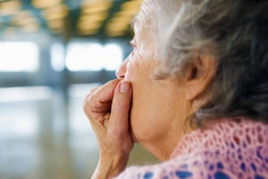 Woman in deep Thought   Michigan Metal Hip Replacement Lawsuit