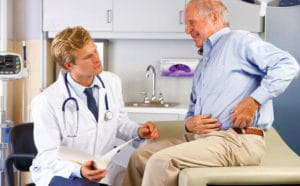Doctor and a patient | Washington Zimmer Kinectiv Lawsuit