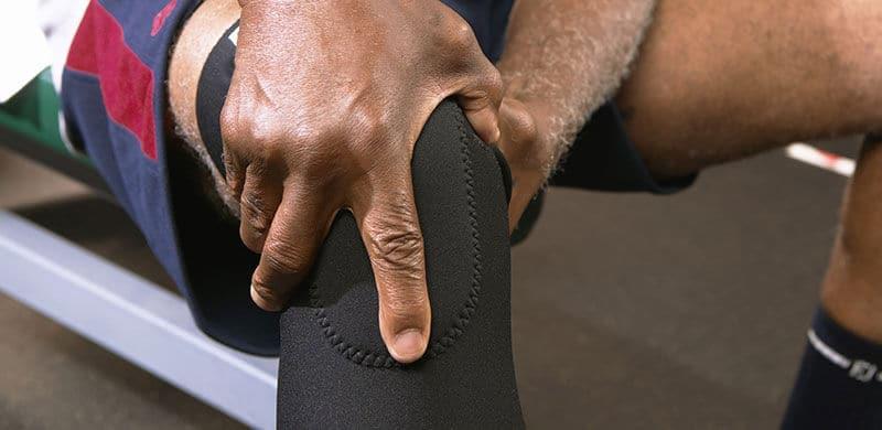 Man Wearing A Knee Pad | Tommie Copper Lawsuit