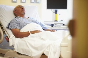 Patient In A Hospital Bed | Infuse Bone Graft Lawsuit