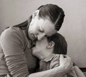 Mother Holding Child | Clomid Autism