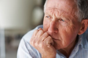 Man Lost In Thought | Viagra Skin Cancer Attorney