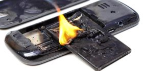 A Burning Cell Phone | Burn Injury Compensation