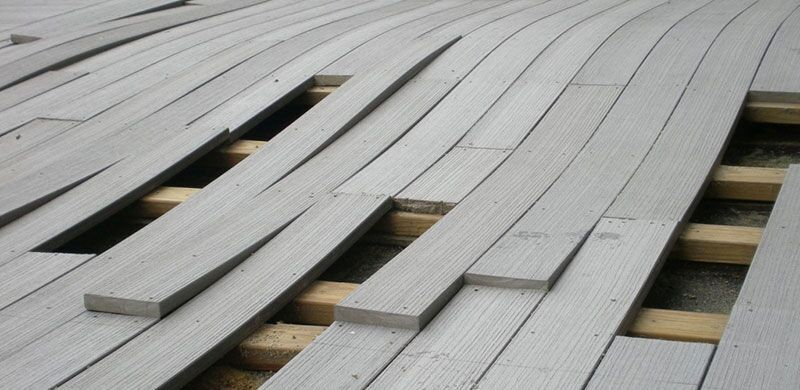 Warped Decking | Rhino Decking Lawsuit
