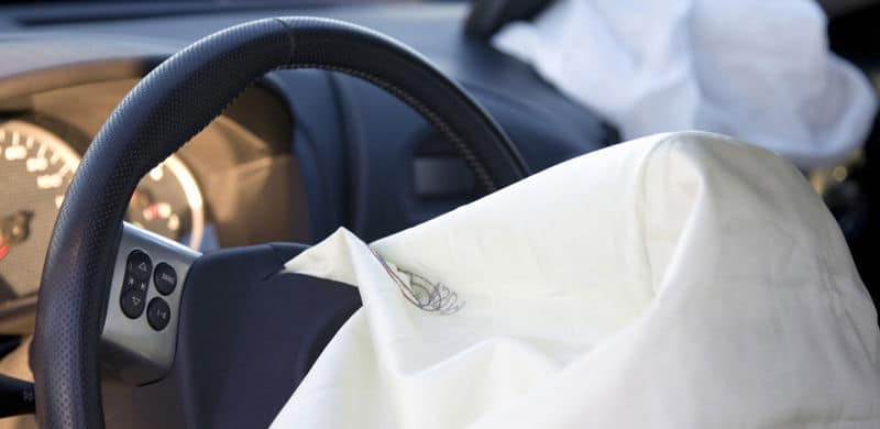 Exploded Airbag | Takata Airbag Recall Attorney