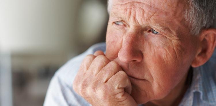 Concerned Older Man | Sepramesh Hernia Mesh Lawsuit
