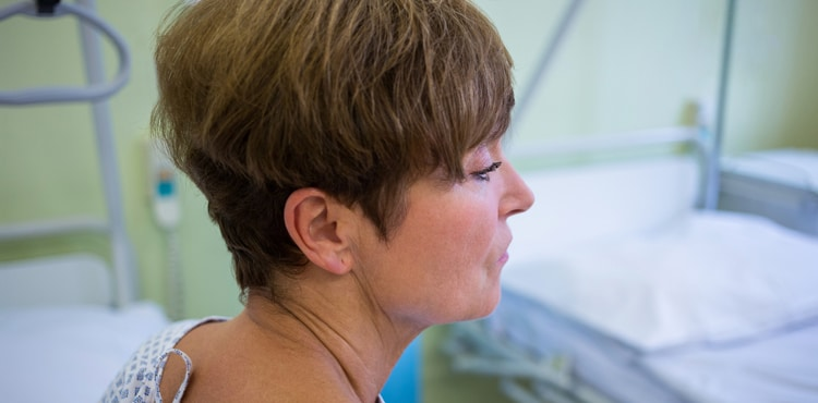 Concerned Woman   Ventralex Hernia Mesh Lawsuit