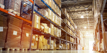 Warehouse with Boxes – Overstock Class Action Lawsuit