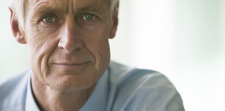 Confident Senior Businessman | Arkansas Viagra Melanoma Cancer Lawyer