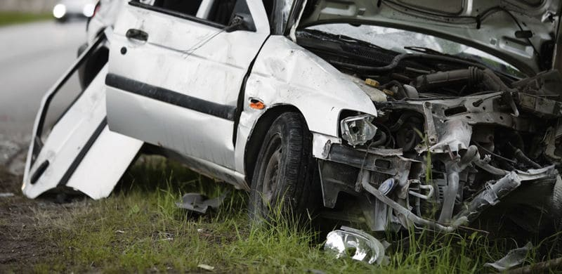 A Wrecked Car | Arkansas Car Accident Lawyer