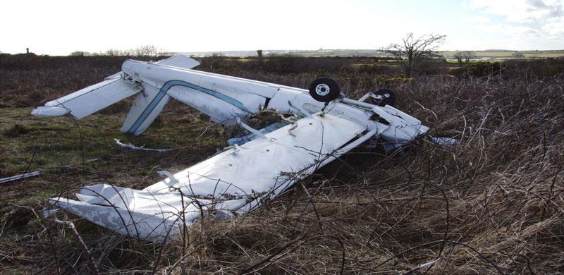 Crashed Plane | Oklahoma Airplane Accident Attorney