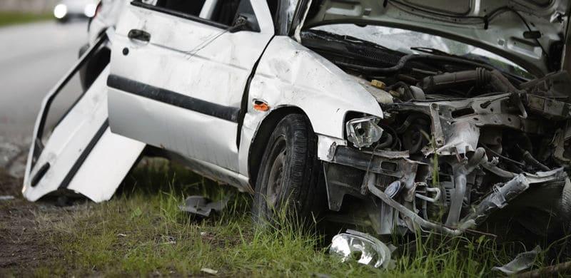 A Wrecked Car | Iowa Car Accident Lawyer