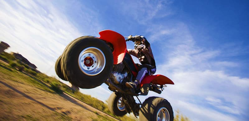 Image of a four wheeler | Four Wheeler Accident Lawyer