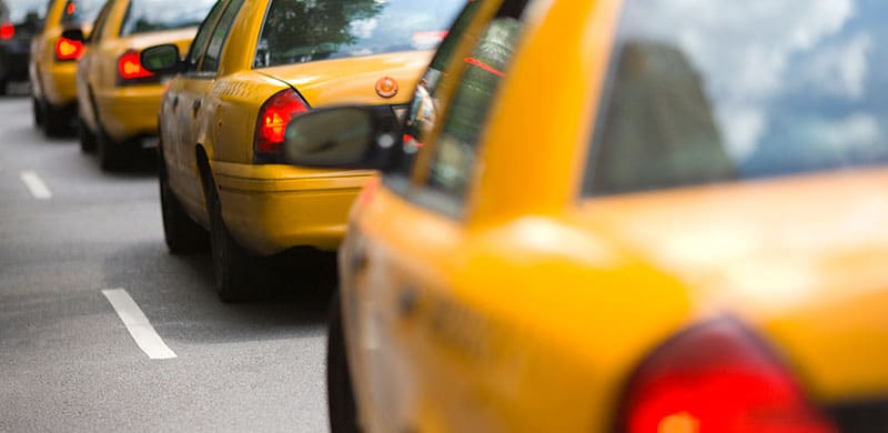 Image of Yellow Cabs | New York Car Accident Attorney