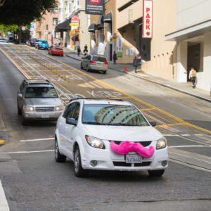 Lyft Car | New York Rideshare Accident Attorney